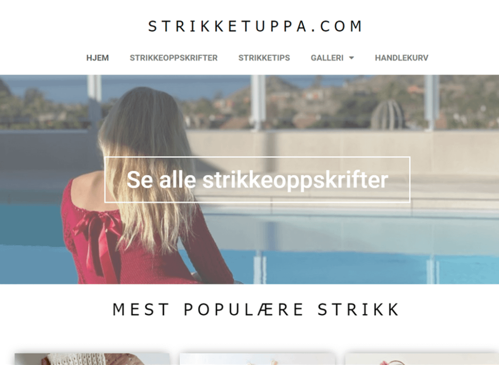 strikketuppa.com